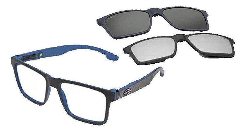 Óculos Armação Mormaii Swap Ng Duo M6098aa356 Preto Clip-on