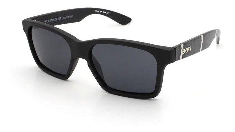 Óculos De Sol Evoke Thunder A01 Preto Fosco / Cinza