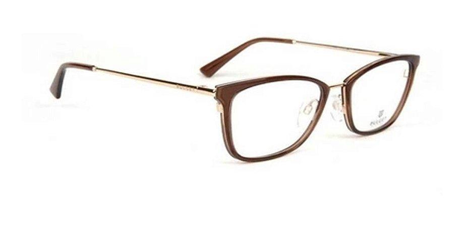Óculos Armação Bulget Bg6323i T02 Marrom Transl Feminino