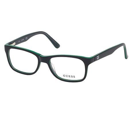 Óculos Armação Guess 9184 005 Acetato Preto Feminino