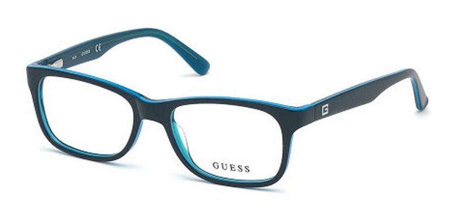 Óculos Armação Guess Gu9184 Infantil Masculino  Acetato 092