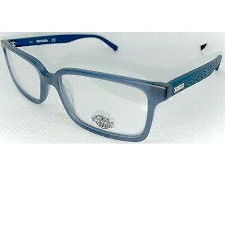 Óculos Armação Harley Davidson HD0839 091 Azul Fosco Acetato