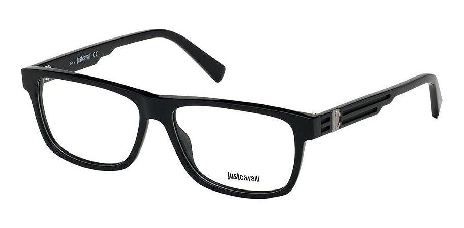 Óculos De Grau Just Cavalli Jc0937/v 001 Preto