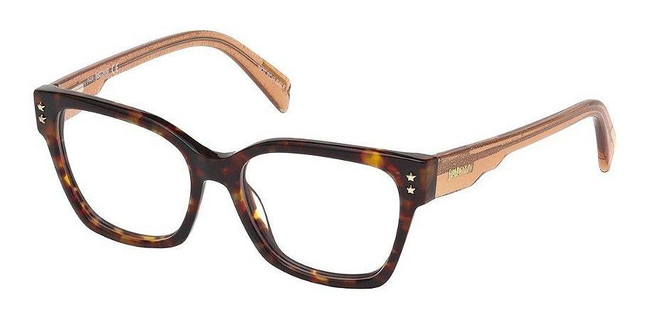 Óculos Armação Just Cavalli Marrom Mesclado Jc0800/v 052