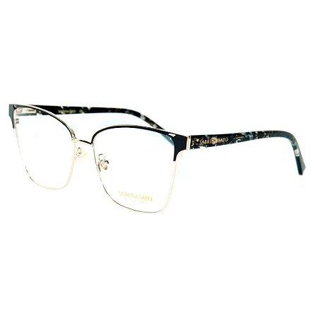Óculos Armação Sabrina Sato SS614 C1 Metal Preto Feminino