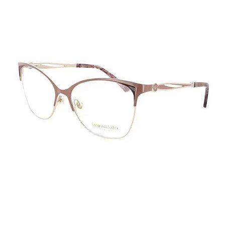 Óculos Armação Sabrina Sato SS522 C3 Metal Nude Feminino