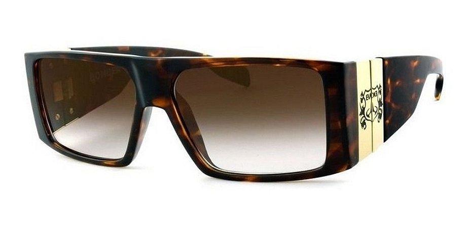 Óculos De Sol Evoke Bomber G22 Mesclado Lente Marrom Degrade