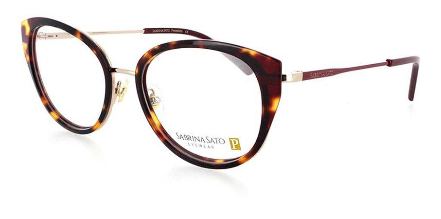 Óculos Grau Sabrina Sato Premium Marrom Mescladoss518 C2