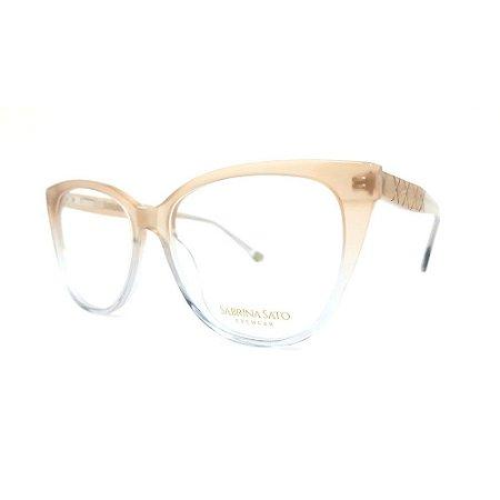 Óculos Armação Sabrina Sato SS510 C3 Nude Translucido