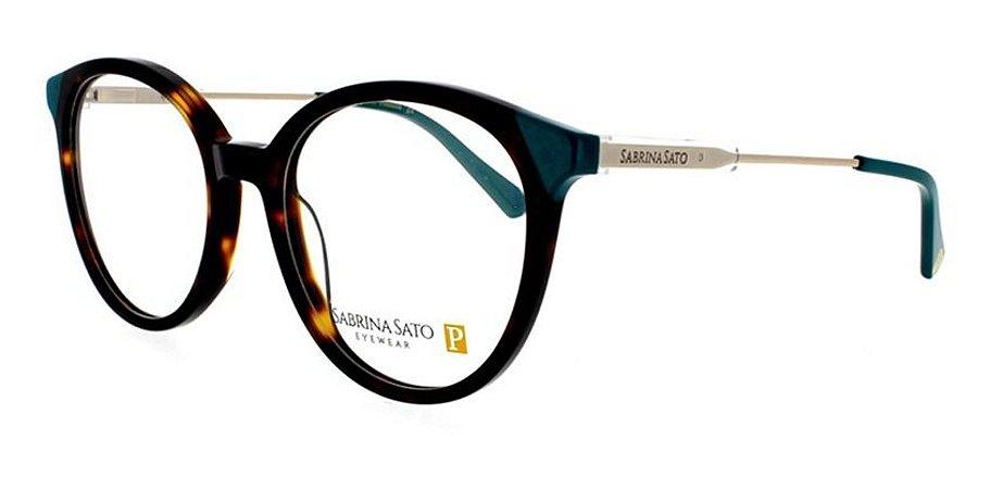 Óculos Armação Sabrina Sato Ss493 C2 Mesclado Marrom
