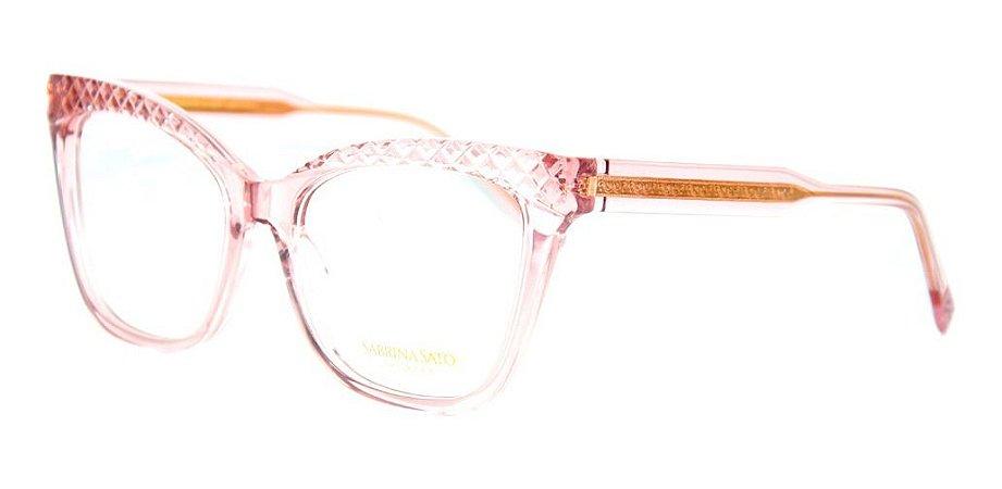 Óculos Armação Sabrina Sato Ss616 C3 Translucido Feminino
