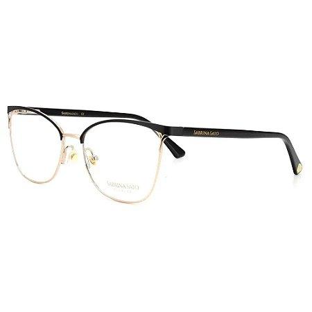 Óculos Armação Sabrina Sato SS576 C1 Metal Preto Feminino