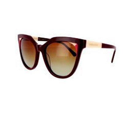 Óculos de Sol Sabrina Sato SS489 C3 Bordo Acetato Feminino