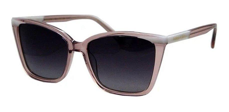 Óculos De Sol Sabrina Sato Ssk6004 Rosa Lente Polarizada  C3