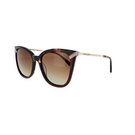 Óculos de Sol Sabrina Sato SS500 C2 Marrom Degrade Feminino