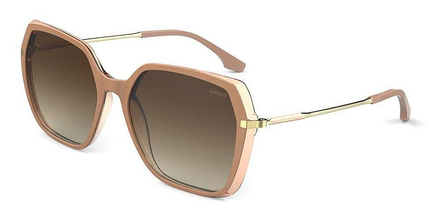 Óculos De Sol Colcci Stela Nude Lente Marrom C0167b9434