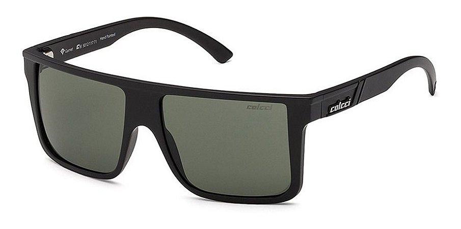 Óculos De Sol Colcci Garnet Preto Lente Verde G15 0501211771