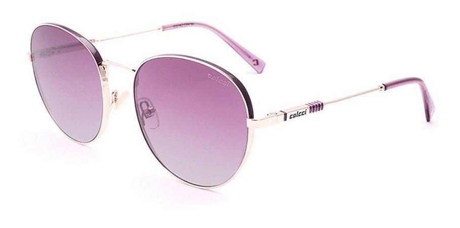 Óculos De Sol Colcci C0162 C04 37 Roxo / Vinho Degradê