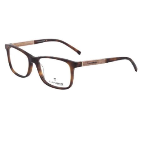 Óculos Armação T-Charge T6070 G21 Marrom Tartaruga Masculino
