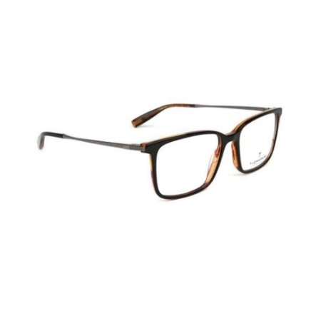 Óculos Armação T-Charge T6174 H01 Preto Acetato Masculino