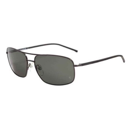 Óculos Solar T-Charge T3039A 02B Preto Lente Cinza Masculino
