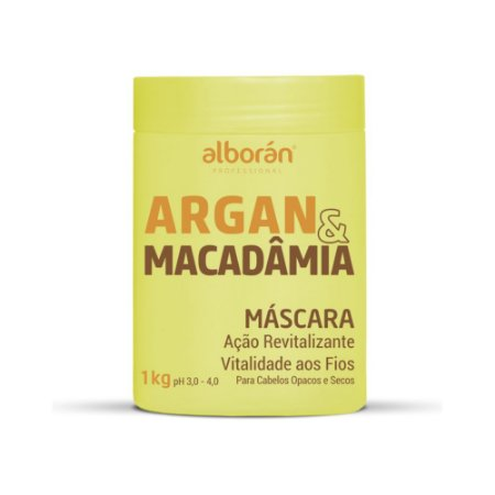 MÁSCARA DE HIDRATAÇÃO ARGAN & MACADÂMIA 1KG