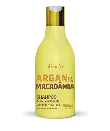SHAMPOO ARGAN & MACADÂMIA 300ML