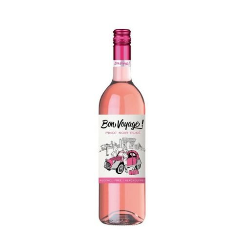 Vinho Bon Voyage Pinot Noir Sem Álcool - Garrafa 750 ml - França
