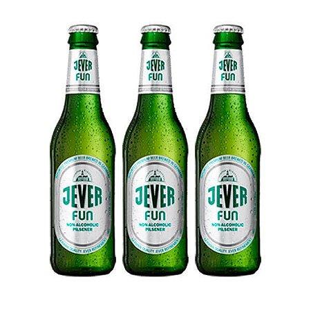 Combo de Cerveja Sem Álcool Jever Fun - 3 UN Long Neck 330 ml - Alemanha