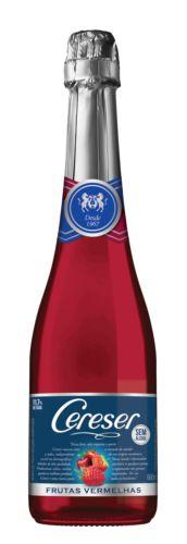 Espumante Cereser de Frutas Vermelhas Sem Álcool 660 ML