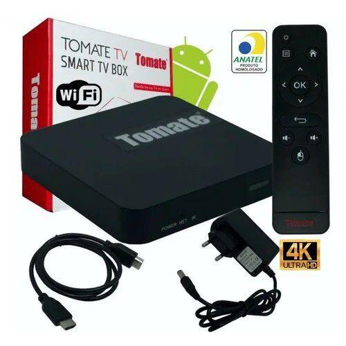 Smart TV Box 4K Android 1G+8G Ultra Hd - Homologado Anatel