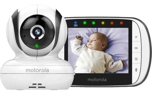 Babá Eletrônica Motorola MBP36XL - Branco