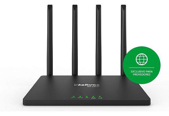 Roteador Wi-Fi 5 (dual band AC 1200) Wi-Force W5-1200F Intelbras