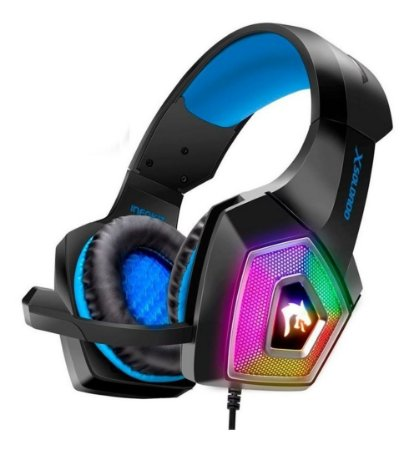 Headset Fone Ouvido Gamer Xsoldado Ghx2000 Rgb Usb P2 Ps4/pc