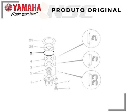O'RING INFERIOR YAMAHA 15 / 60HP
