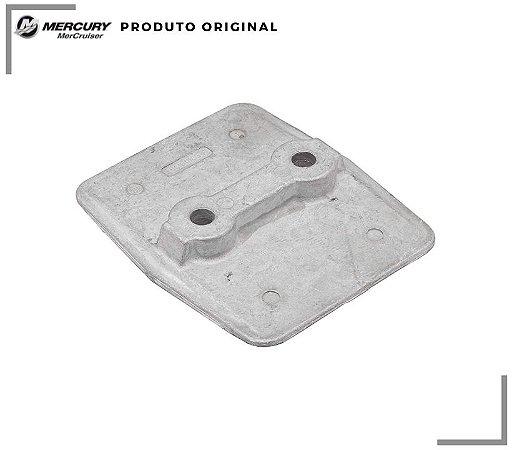ANODO DA PLACA DE VENTILAÇÃO (LEME) MERCURY VERADO / SEA PRO / PRO XS V6 E V8