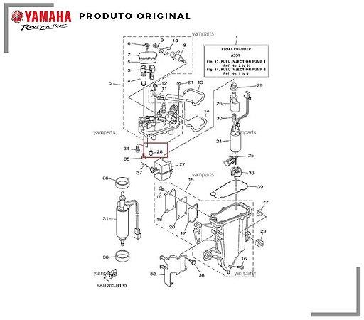 AGULHA / ESTILETE DA CÂMARA YAMAHA F115 / F250HP