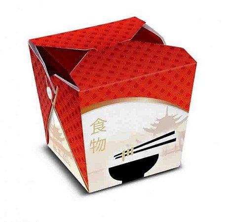 CH1 - 12 unid -  Caixa Box para comida chines - 850 ml