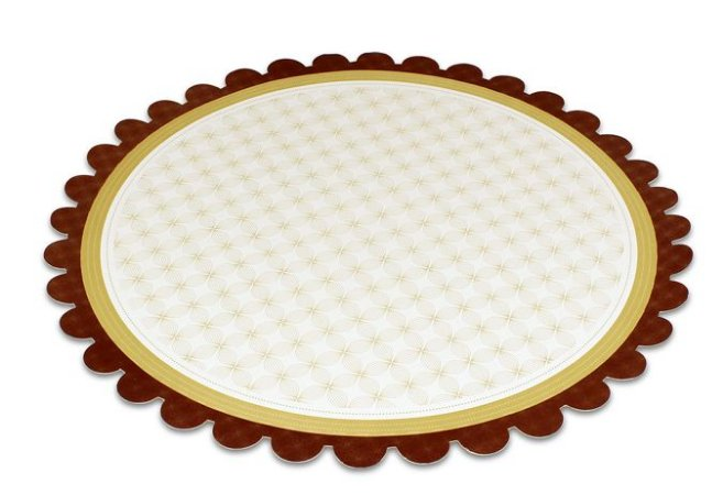 PD213 -1 unid -  Pratos reforçados para bolos e tortas 34 cm