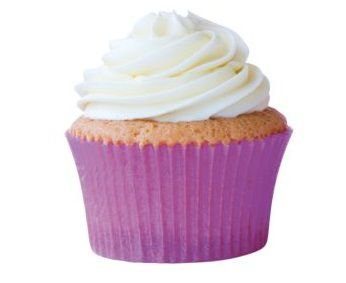45 unid - Forminha para cupcake lilás N.0