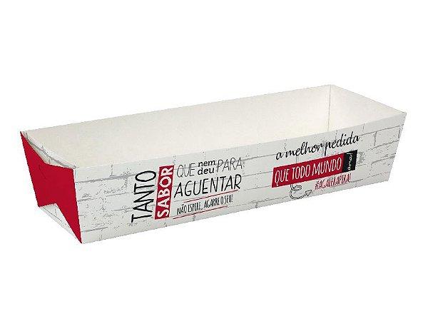D1 - 100 unid - Embalagem para Hot Dog e baguetes