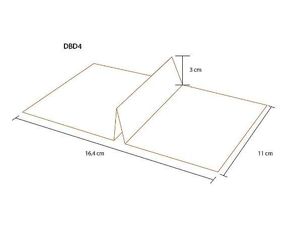 DBD4- 100 unid - Divisória para a bandeja Bd4