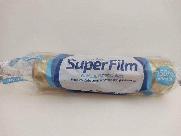 Filme de PVC  -  150 x 300 m - Refil - 1 unidade