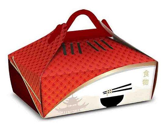 CH3- 100 unid - Embalagem box para fritura