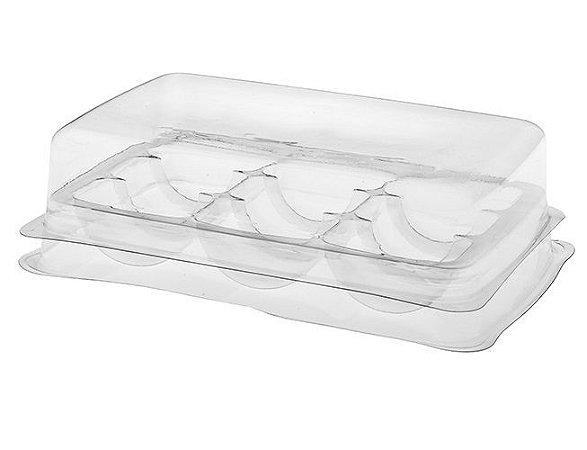 150 unid - Embalagem para macarons para 9 cavidades