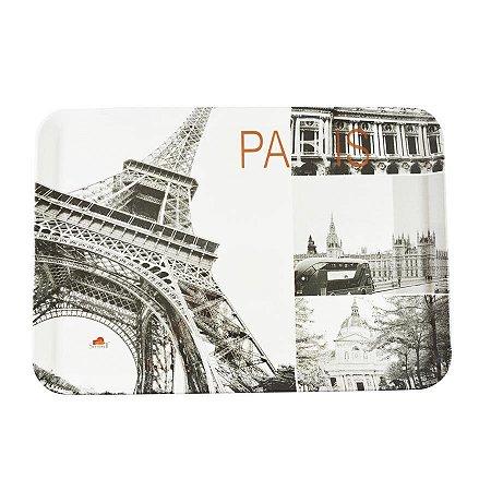 BANDEJA MELAMINA GRANDE PARIS 35X24cm 6391PARIS