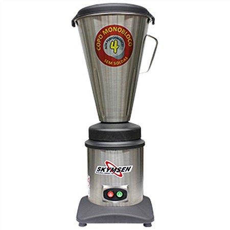 Liquidificador Skymsen 4 L Alta Rotação Copo Inox 127V TA-04MB-N