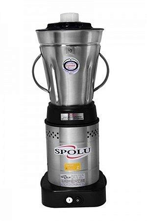 Liquidificador Spolu 4 L Bivolt Baixa Rotação Copo Inox SPL-049