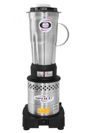 Liquidificador Spolu Inox 2 L 220V Alta Rotação Copo Inox SPL-022-X