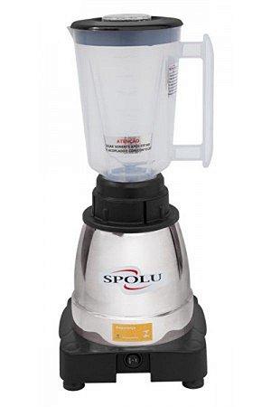 Liquidificador Spolu Super 1,5 L 127V Alta Rotação Copo Polipropileno SPL-059